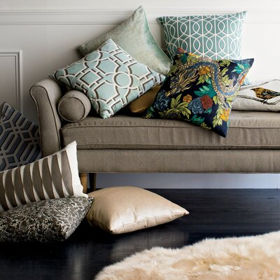 DwellStudio Gate Azure Pillow