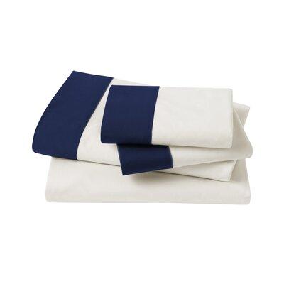 DwellStudio Modern Border Admiral Sheet Set