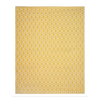 DwellStudio Facet Cream/Citrine Rug