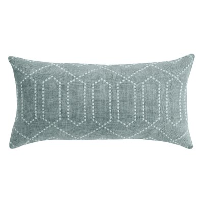 DwellStudio Dotted Trellis Pillow in Azure