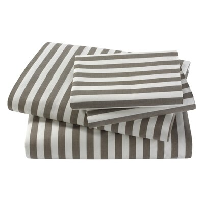 DwellStudio Ash Draper Stripe Sheet Set