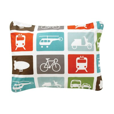 DwellStudio Transportation Cotton Sham