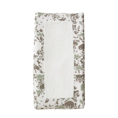 DwellStudio Woodland Tumble Changing Pad Cover in Mocha
