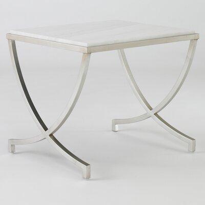 DwellStudio Haviland Silver Leaf Table