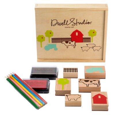 DwellStudio Farm Stamp Set