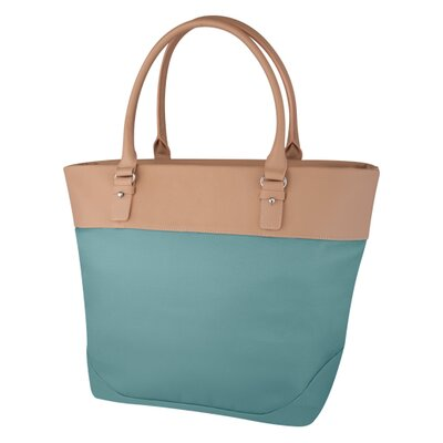 DwellStudio Hudson Diaper Bag in Teal