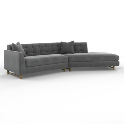 DwellStudio Edward Left Arm Angled Sectional Sofa
