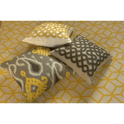 DwellStudio Labyrinth Citrine Pillow