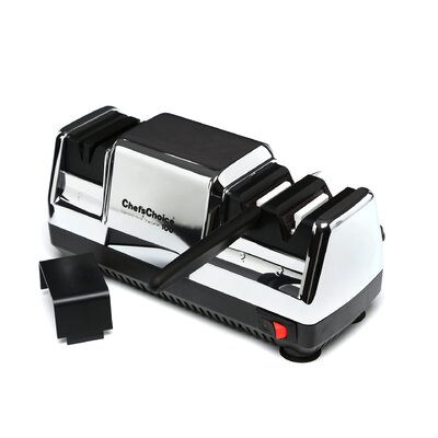 Chef's Choice Diamond Hone Deluxe M100 Knife Sharpener in Chrome