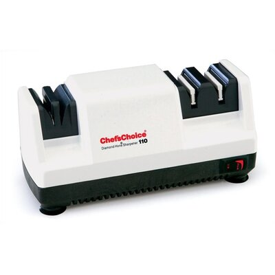 Diamond Hone Knife Sharpener - White
