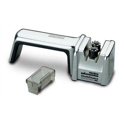 Chef's Choice MultiEdge Diamond Hone 2 Stage Knife Sharpener - Chrome