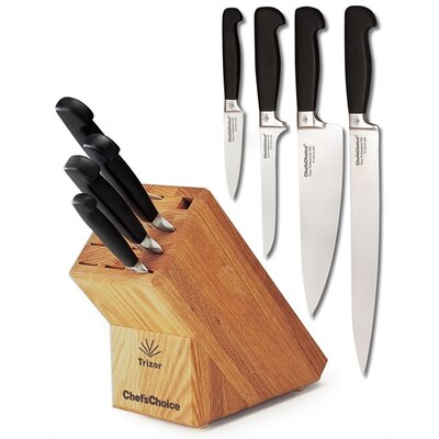 Chefs knife; Slicing knife; Boning knife; Paring knife; Knife Block