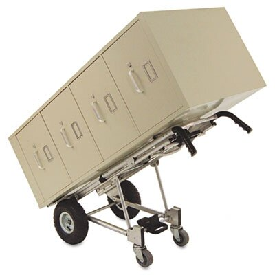 Cosco Home and Office 3-in-1 Convertible Truck, 1000lb Capacity, 20-1/2w x 21-1/4d x 47-4/5h, Aluminum