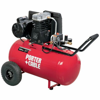 Porter Cable 150 PSI 20 Gallon 5.9 SCFM @90 PSI Air Compressor