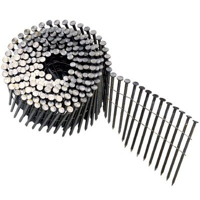 "Bostitch Round Head Framing Nails - nail coil 120 plain 3-1/4"" dp. 2700 per box"