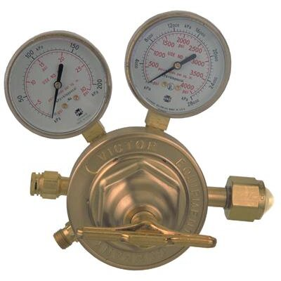 Victor SR460A-300 Single Stage Heavy Duty Acetylene Regulator