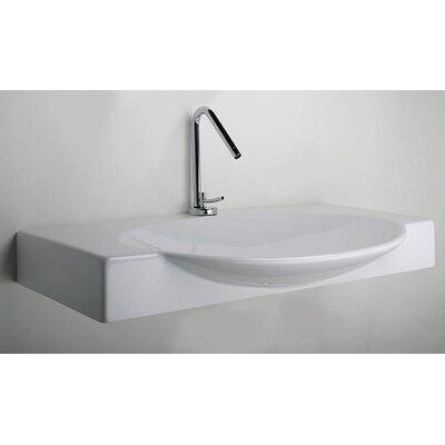 LaToscana Swing 85 Above Counter/ Wall Mount Bathroom Sink & Reviews ...