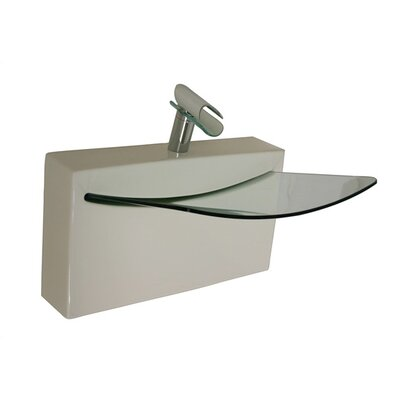 Cristal Wall Mount Bathroom Sink - L990