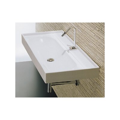 Piano Wall Mount Bathroom Sink - L3012