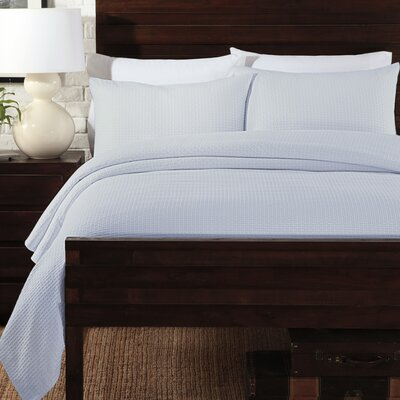LaMont Basketweave Coverlet Set