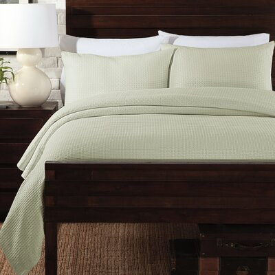 Basketweave Coverlet Set