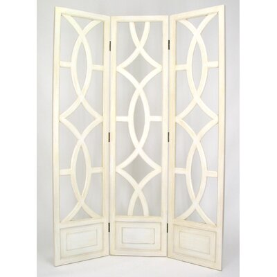 "Wayborn 76"" x 54"" Charleston 3 Panel Room Divider"