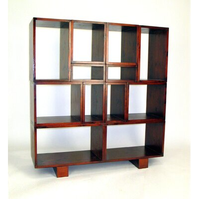 Wayborn Tate Modular Wall Unit in Brown
