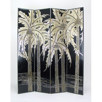 Contrast Palm Trees Room Divider