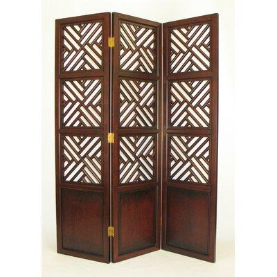 78 x 60 intertwine frame 3 panel room divider wayfair - Room divider picture frames ...