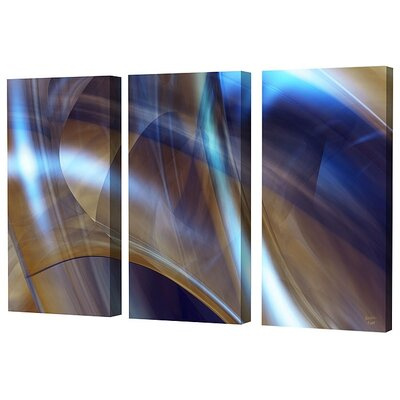 Menaul Fine Art Triptych in Brown Limited Edition Canvas - Scott J. Menaul (Set of 3)