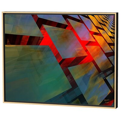 Menaul Fine Art Glass Cubed Limited Edition Framed Canvas - Scott J. Menaul