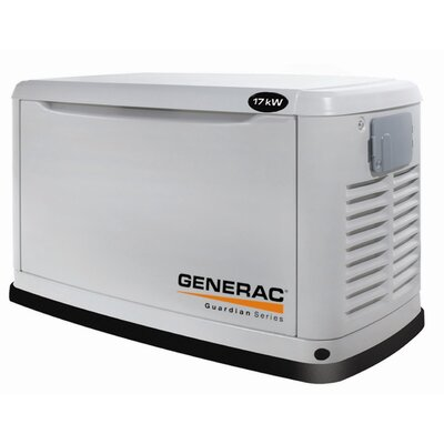 17 Kw Air-Cooled Single Phase 120/140 V Standby Generator in Steel Enclosure - 6248