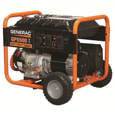 5500 Watt Portable Generator GP5500 - 5939
