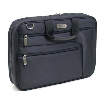 "Kenneth Cole Reaction ""On The Double"" Gusset Portfolio in Black"