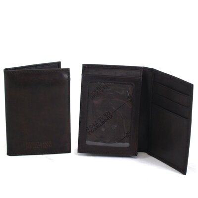 "Kenneth Cole Reaction Fillmore Leather ""Flip Wilson"" Flip-Up Wallet"