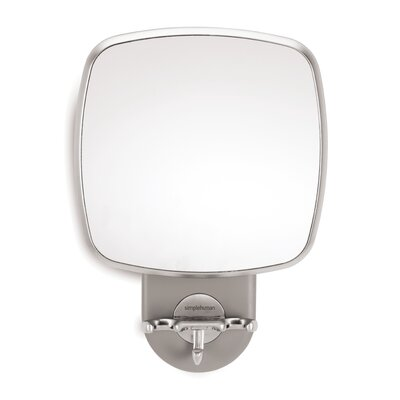 simplehuman Wall Mount Shower Mirror in Grey