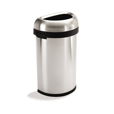 simplehuman Semi-Round Open Can