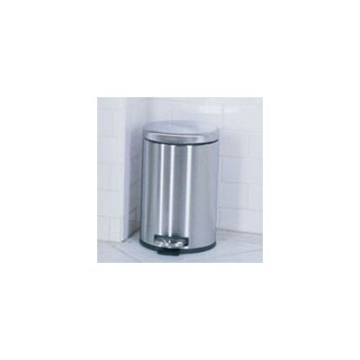 simplehuman 1.2-Gal. Mini Round Step Can