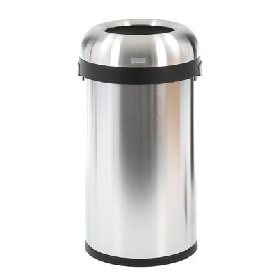 simplehuman 15.85-Gal. Bullet Open Trash Can