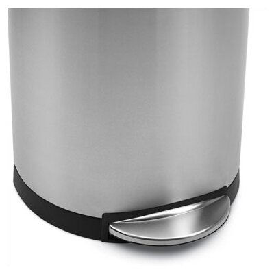 simplehuman Semi Round Trash Can 10.5 Gallon