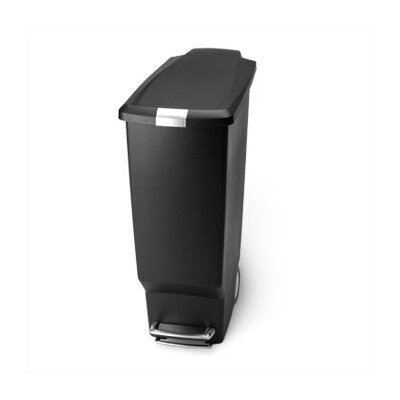 simplehuman Slim Plastic Step Can