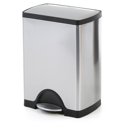 simplehuman Rectangular Step 8 Gallon Trash Can