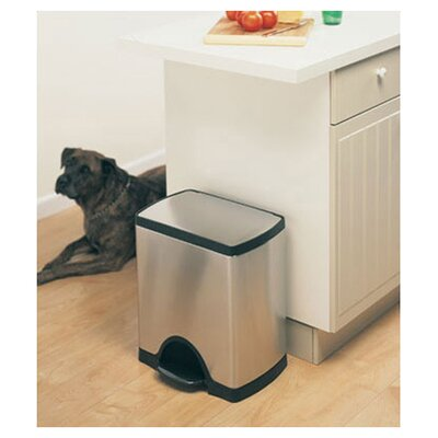 simplehuman Rectangular Step 6.5 Gallon Trash Can