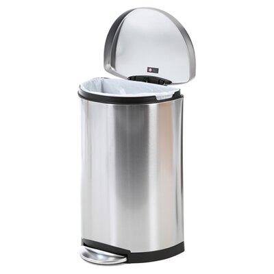 simplehuman 10.5-Gal. Semi Trash Can