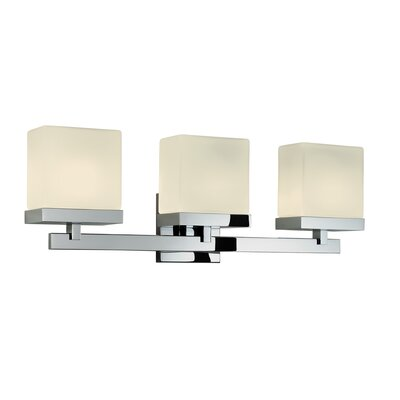 Sonneman Cubist 3 Light Bath Vanity Light