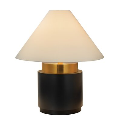 "Sonneman Tondo Basso 34"" H Table Lamp with Empire Shade"