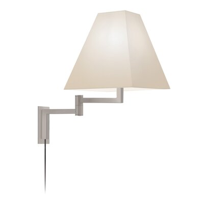 Sonneman Square Swing Arm Wall Lamp