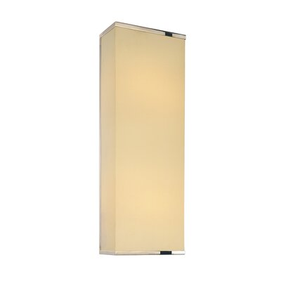 Sonneman Rettangolo 2 Light Corto Wall Sconce