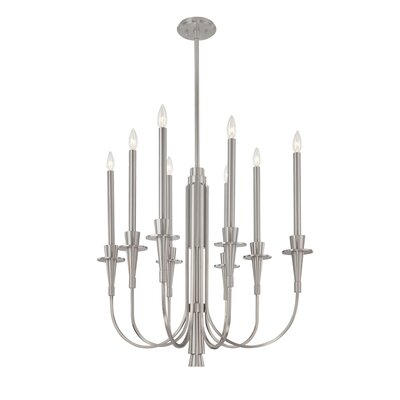 Sonneman Heirloom 8 Light Candle Chandelier