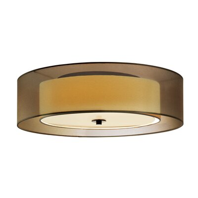 Sonneman Puri 3 Light Flush Mount